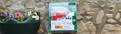 Defibrillateur baslieux les fismes